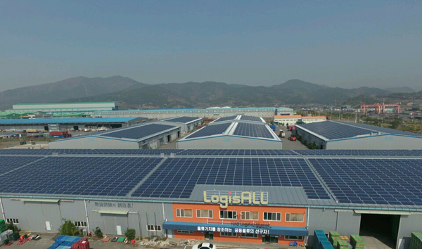 LogisALL started New-Born Energy business over Solar Power Plant